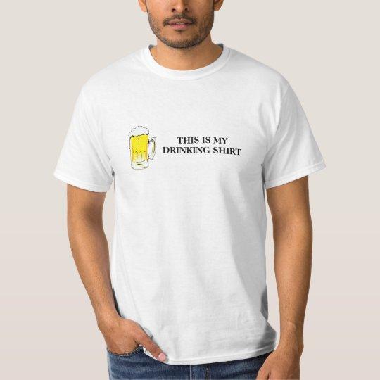 Drinking Shirt (black text)