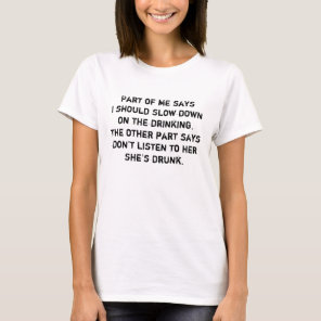 Drinking Shirt Funny Sarcastic Quote