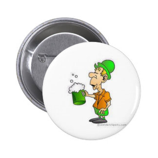 drinking st patricks design button