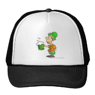drinking st patricks design trucker hat