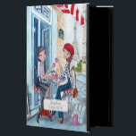 "Drinking Tea Girls in Paris | iPad Air 2 Case<br><div class=""desc"">Cartita design &#169;2015  All Rights Reserved