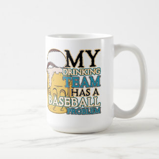 Drinking Team Baseball Coffee Mug