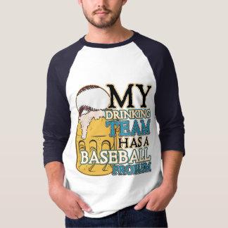 Drinking Team Baseball T-Shirt