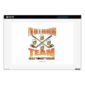 DRINKING TEAM DECALS FOR LAPTOPS