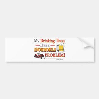 Drinking-Team-Final- Bumper Sticker