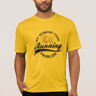Drinking Team Has Running Problem Sport-Tek SS T-Shirt