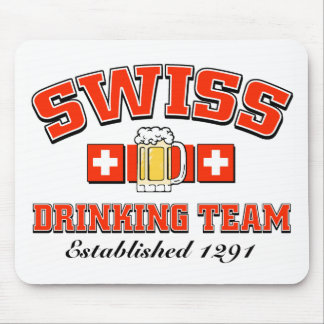 Drinking Team Mousepad