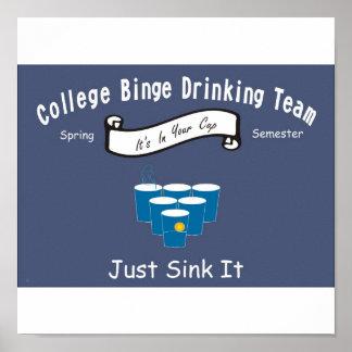 Drinking Team Poster