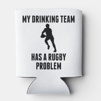 Drinking Team Rugby Problem Can Cooler