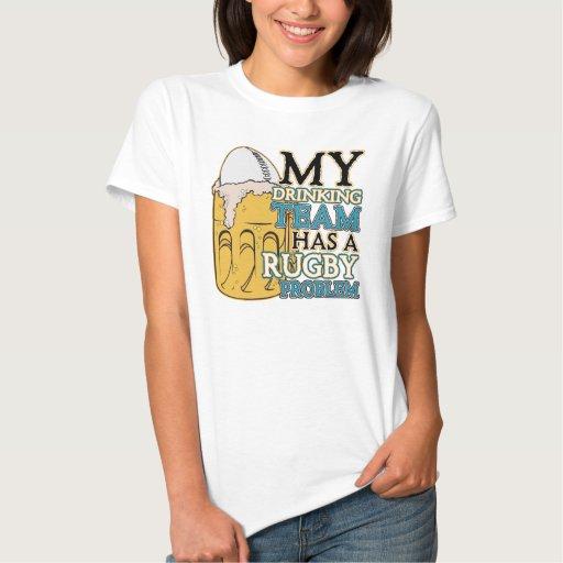 Drinking Team Rugby Tshirt