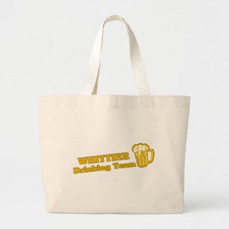 Drinking Team tee shirts Canvas Bags