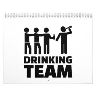 Drinking team calendar