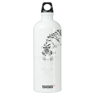Drinking Tiger Aluminum Water Bottle