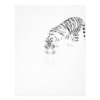 Drinking Tiger Letterhead Design