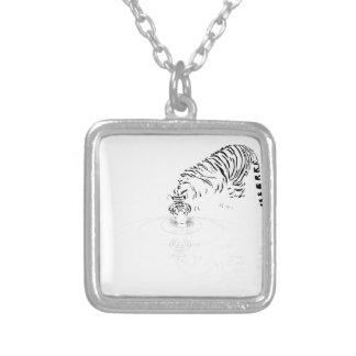 Drinking Tiger Necklaces