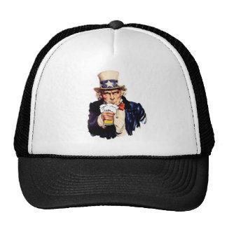 Drinking Uncle Sam Trucker Hat