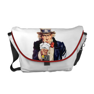 Drinking Uncle Sam Commuter Bags