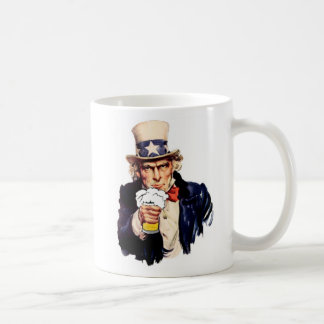 Drinking Uncle Sam Coffee Mugs