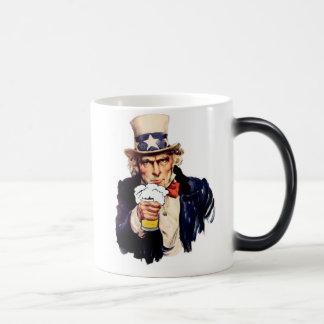 Drinking Uncle Sam Mugs