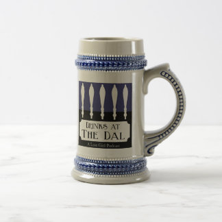Drinks at The Dal Logo 18 Oz Beer Stein