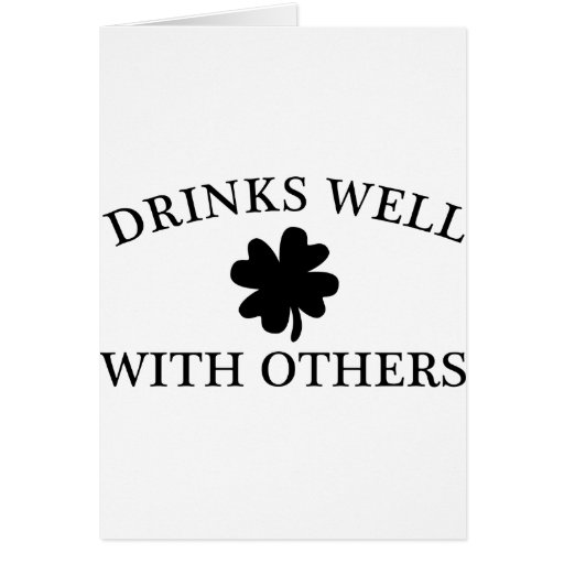 Drinks Well With Others Cards