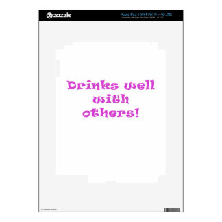 Drinks Well With Others iPad 3 Skin