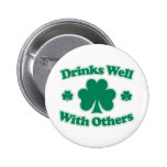 Drinks Well With Others Pins