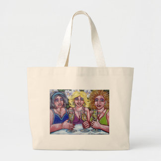 drinks with the ladies tote bag
