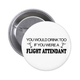 DrinkToo - Flight Attendant Button