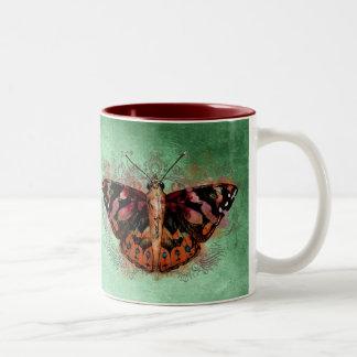 Drinkware - Painted Lady Two-Tone Coffee Mug