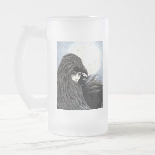 Drinkware totémico de Hecate Taza De Cristal