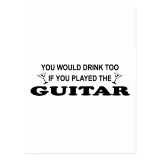 Drinnk Too - Guitar Postcard