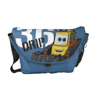Drip Character Art Courier Bag