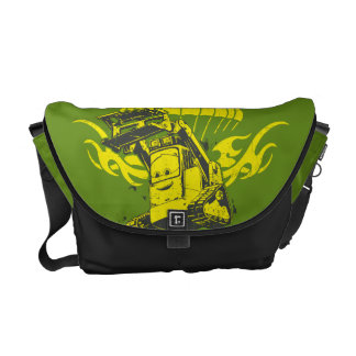 Drip Graphic Courier Bag