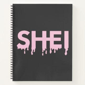 Drip Logo Notebook