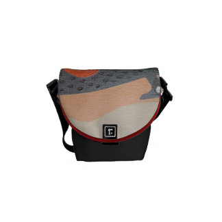 Drip of water courier bag