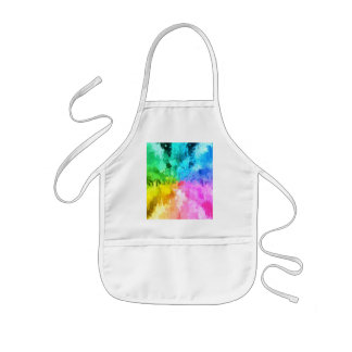 drip paint color of chakra by healinglove apron