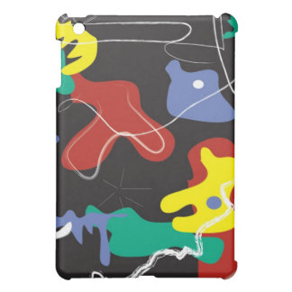 Drip Painting iPad Mini Covers