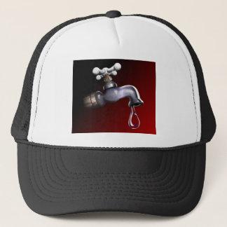 Drip with background trucker hat