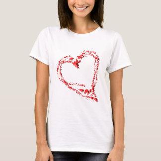 dripped heart T-Shirt