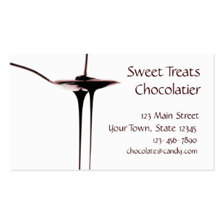 Dripping Chocolate Business Card