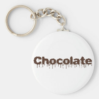 Dripping Chocolate Keychain