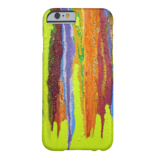 Dripping Colors Abstract Art Design Gifts iPhone 6 Case