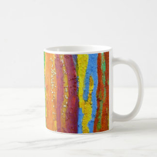 Dripping Colors Abstract Art Design Gifts Coffee Mug