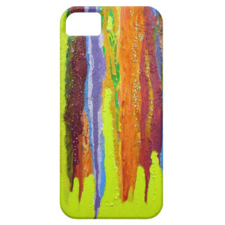 Dripping Colors Abstract Art Design Gifts iPhone SE/5/5s Case
