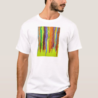 Dripping Colors Abstract Art Design Gifts T-Shirt