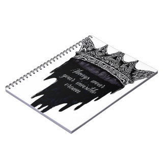Dripping Crown with Text - v3 Notebook