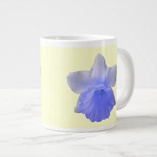 Dripping Daffodil Blue Mug
