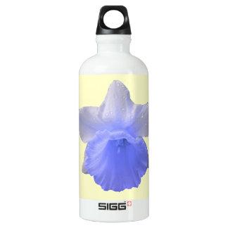 Dripping Daffodil Blue Water Bottle
