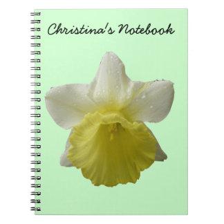 Dripping Daffodil Customizable Notebook